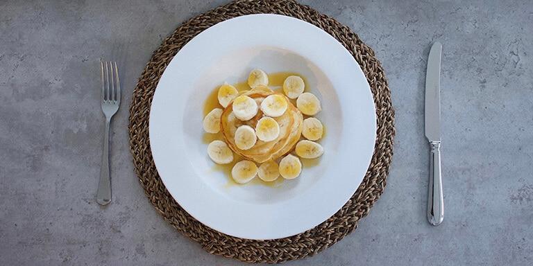 havermoutpannenkoeken met banaan