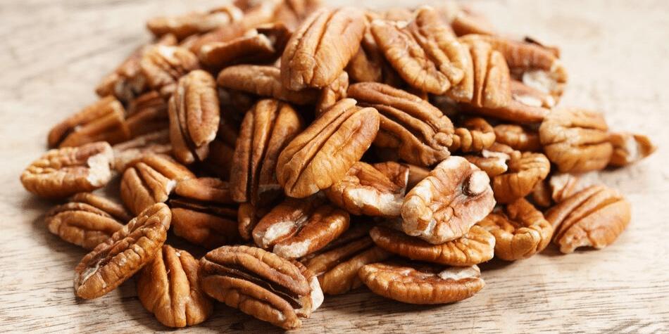 pecan noten helpen bij afvallen