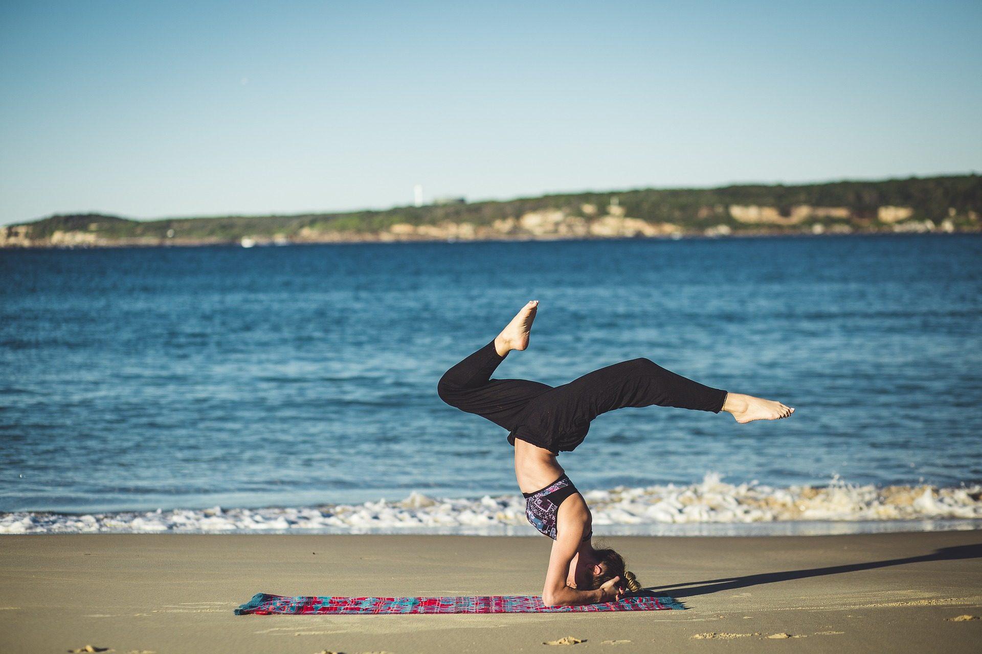 afvallen door yoga