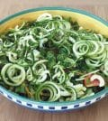 courgette met walnoot salade