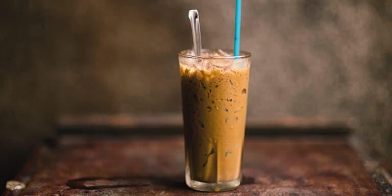 gezonde ijskoffie