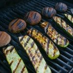 gegrilde courgette