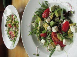 Spinazie salade
