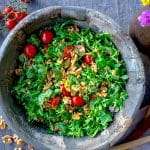 rucola salade met tomaatjes