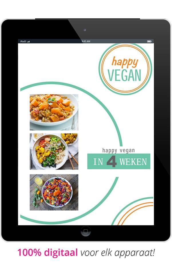 Happy Vegan in 4 weken programma