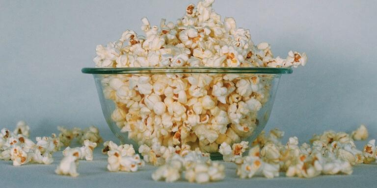 gezonde popcorn maken
