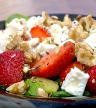 aardbeien salade