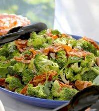 broccoli salade met spekjes