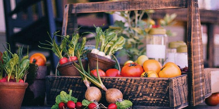 vegetarische groenten