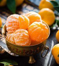 selderij mandarijn snack bowl