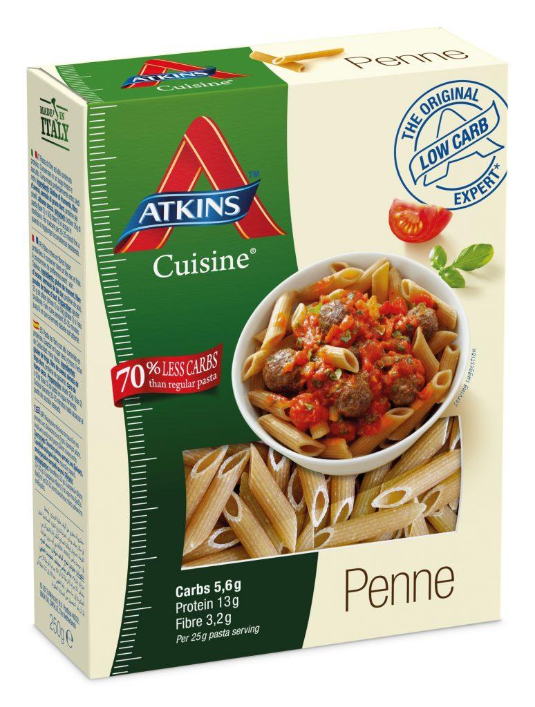 Verpakking koolhydraatarme pasta spaghetti