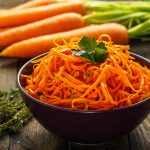 Recept voor wortel spaghetti