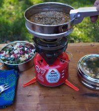 koolhydraatarm koken op de camping