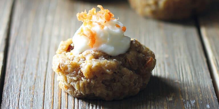 cupcakes van worteltaart