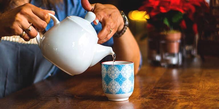 ontgif je lichaam met groene thee