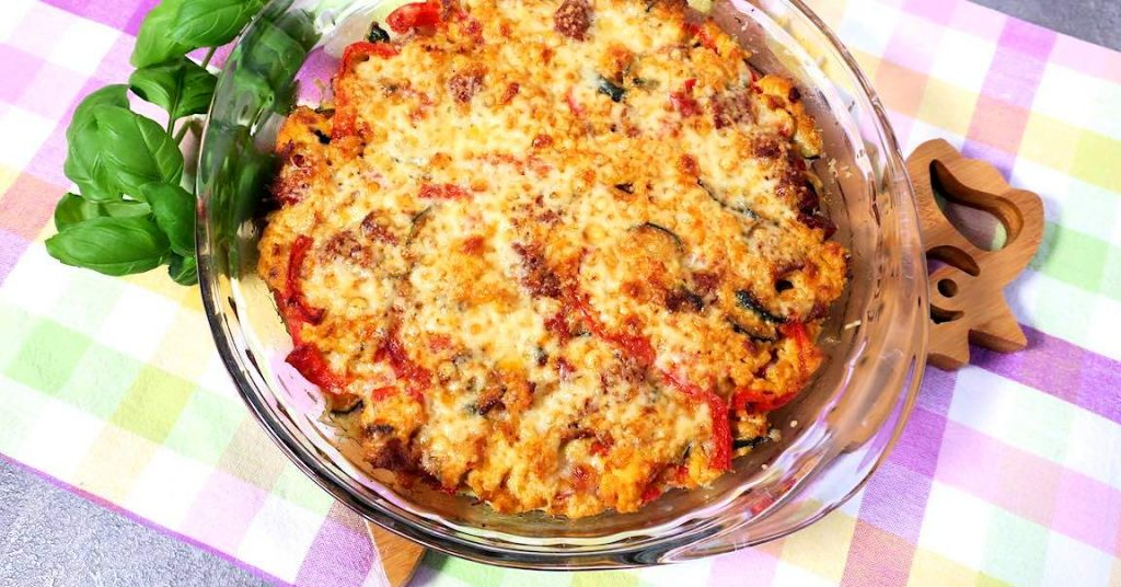 Spaanse omelet met chorizo