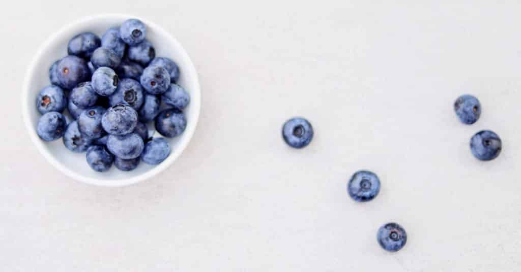 Eén bakje blauwe bessen per dag helpt enorm
