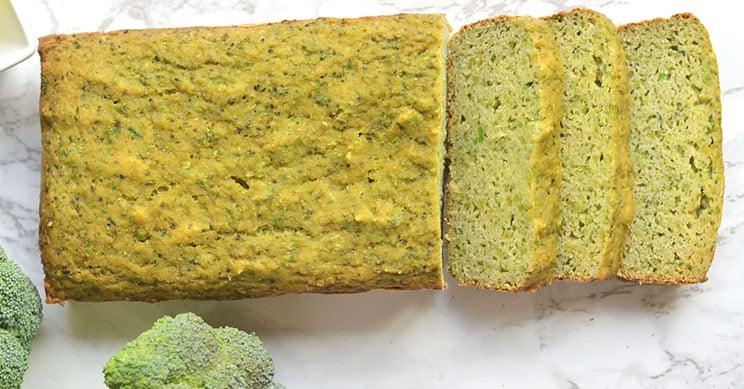 Broccolibrood met speltmeel