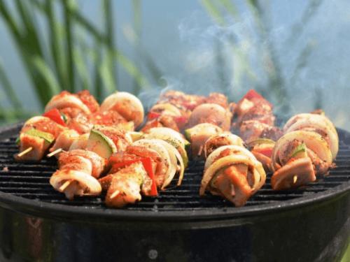 Kipspiesjes voor op de barbecue | Makkelijk Afvallen