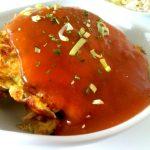 Gezonde foe yong hai is een vegetarische groente omelet uit de Chinese keuken